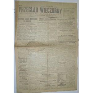 Przegląd Wieczorny - Wojna, Plebiscyty, 28 Stycznia 1920 r.