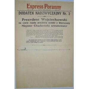 Express Poranny - Ucieczka Prezydenta, 14 maja 1926 r.