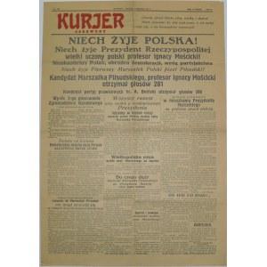 Kurjer Czerwony - Mościcki Prezydentem! 1 czerwca 1926 r.