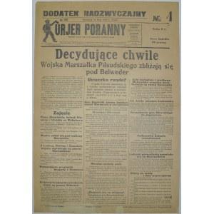 Kurjer Poranny - Decydujące Chwile, 14 Maja 1926 r.(1)