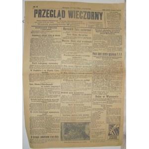 Przegląd Wieczorny - Normalizacja , 17 Maja 1926 r.