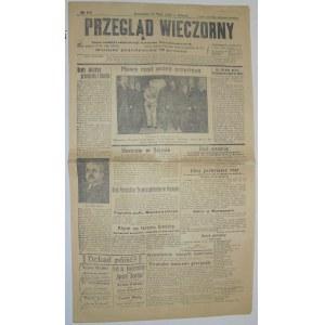Przegląd Wieczorny - Nowy Rząd, 18 maja 1926