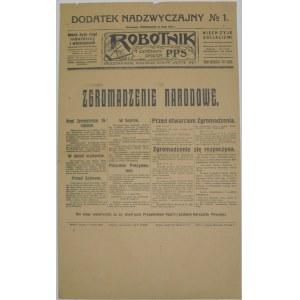 Robotnik - Wybory Prezydenckie, 31 Maja 1926 r.