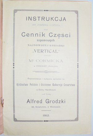 Grodzki A. Kosiarka