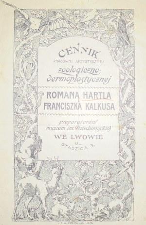 Hartl I Kalkus, Taksydermia, Lwów, Po 1914
