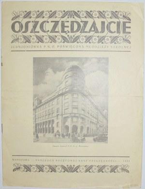 P.K.O. - Oszczędzajcie ! 1933 Rok