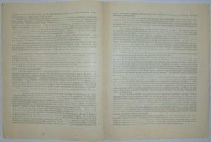 1922 - odezwa Senatu Akademickiego UW