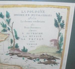Polska, A. Zatta, 1802 Rok