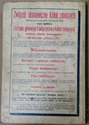 Kalendarz Kółek Rolniczych, 1914