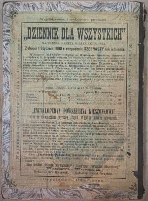 Kalendarz Polski Ilustrowany, 1898