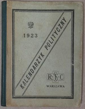 Kalendarzyk Polityczny, 1923.