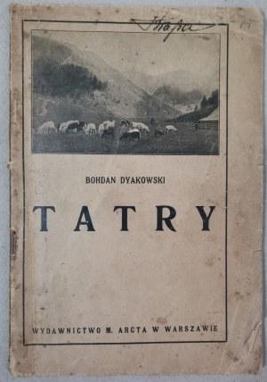 Dyakowski B. - Tatry, 1923 Rok