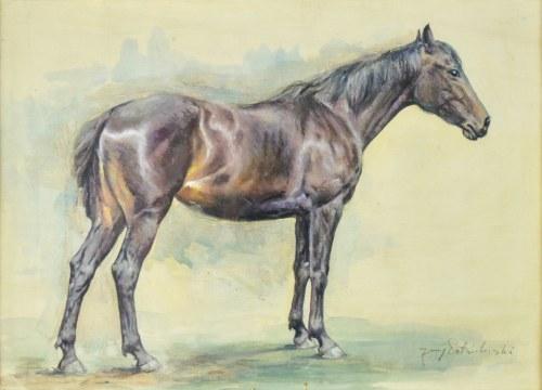 Jerzy POTRZEBOWSKI? (1921-1974) , Koń