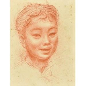 Roman KRAMSZTYK (1885 - 1942), Popiersie dziewczyny
