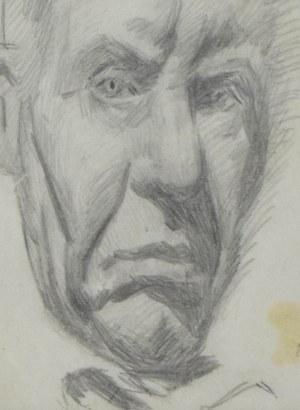 Stanisław KAMOCKI (1875-1944), Autoportret - głowa artysty