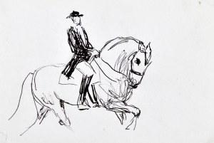 Ludwik MACIĄG (1920-2007), Jeździec na koniu