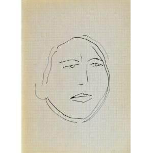 Jerzy PANEK (1918-2001), Twarz młodej kobiety, 1963