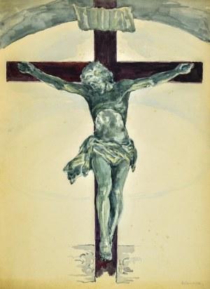 Józef PIENIĄŻEK (1888-1953), Jezus na krzyżu