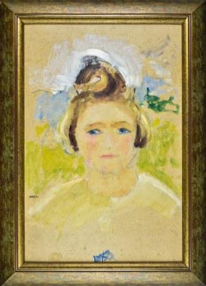 Irena WEISS – ANERI (1888-1981), Portret dziewczynki - Hanusia, ok. 1926