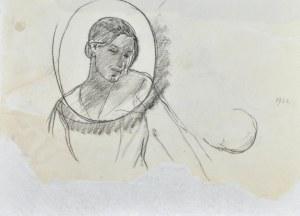 Leopold GOTTLIEB (1879-1934), Popiersie kobiety, 1922