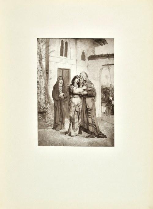 Maurycy GOTTLIEB (1856-1879), Uratowanie Rechy, 1876