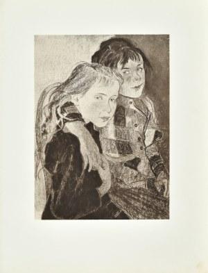 Stanisław WYSPIAŃSKI (1869-1907), Dwie dziewczynki