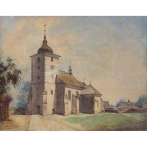 Eljasz-Radzikowski Walery, KOŚCIÓŁ W SKAWINIE, 1 LIPCA 1867