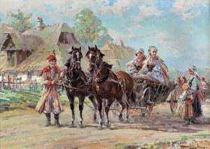 Chmieliński (Stachowicz) Władysław, WESELNICY KRAKOWSCY