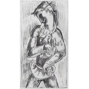 Zak Eugeniusz, MŁODZIENIEC Z KWIATKIEM, 1929