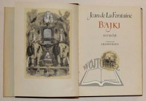 LA FONTAINE Jan de, Bajki. Wybór.