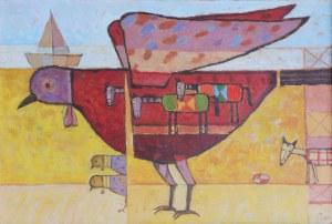 """Malesza Mikołaj, z cyklu """"Ptaki moje"""", 2009"""