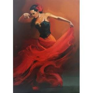 Musiał-Tomaszewska Beata, Tancerka flamenco, 2021