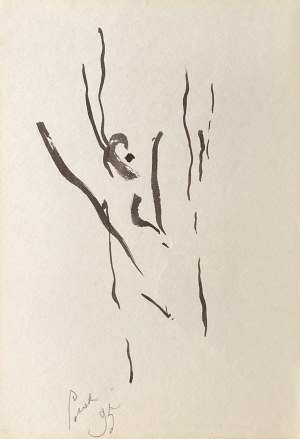 Panek Jerzy, Autoportret, 1995