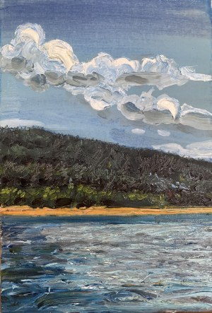 Artur Zienko, Chmury i Woda, 2019