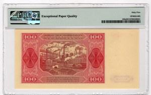 100 złotych 1948 - seria HC - PMG 65 EPQ