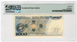 1.000 złotych 1975 - seria BA - PMG 66 EPQ