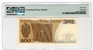 500 złotych 1974 - seria C - PMG 67 EPQ