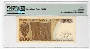 500 złotych 1974 - seria H - PMG 58 EPQ