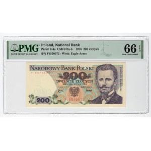 200 złotych 1976 - seria F - PMG 66 EPQ