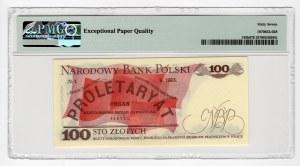 100 złotych 1976 - seria ET - PMG 67 EPQ