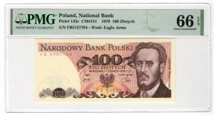 100 złotych 1979 - seria FB - PMG 66 EPQ