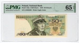 50 złotych 1975 - seria L - PMG 65 EPQ