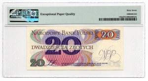20 złotych 1982 - seria E - PMG 67 EPQ