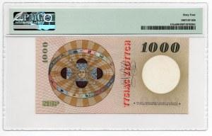 1.000 złotych - 1965 - seria B - PMG 64