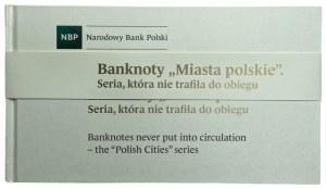 Miasta Polskie - zestaw 9 banknotów - od 1 do 500 złotych 1990