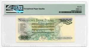5000 złotych 1982 - seria BY - PMG 66 EPQ
