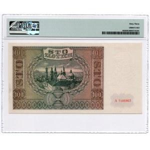 100 złotych 1941 - seria A - PMG 63