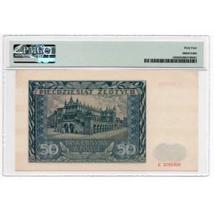 50 złotych 1941 - seria E - PMG 64