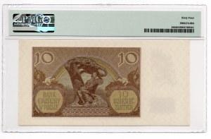 10 złotych 1940 - seria H - PMG 64
