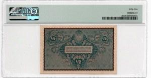 1/2 Marki 1920 - PMG 55